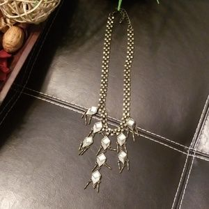 Jewelry - Antique Gold Necklace with Pendants